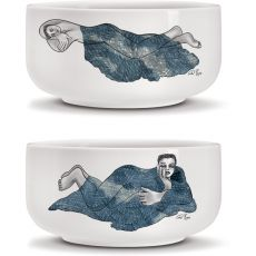 Set Of 2 Medium Bowls