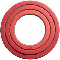 Good Grips Three Ring Trivet Set, Red