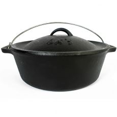 Cast Iron Bake Pot