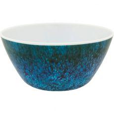 Melamine Mottled Seas Dessert Bowl, 15cm