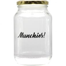 Munchies Glass Storage Jar, 1 Litre
