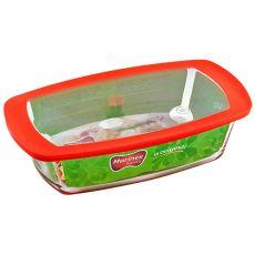 Loaf Dish & Plastic Lid, 1.5 Litre
