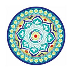Melamine Side Plate, Moroccan Mandala