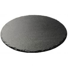 Round Slate Serving Board
