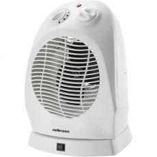 White Oscillating Fan Heater