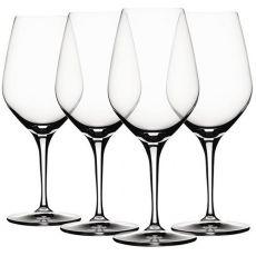 Rose Wine Glasses, Set of 4