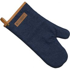 Oven Mitt, Denim Blue