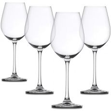 Salute White Wine Glasses, Set Of 4