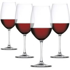 Salute Bordeaux Glasses, Set Of 4