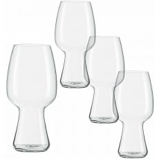 Beer Classics Stout Beer Glasses, Set Of 4