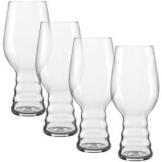 IPA Craft Beer Glasses, Set Of 4