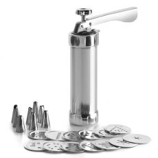 Silver-Alu 22pc Cookie Press & Accessories