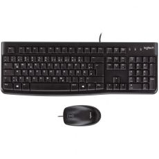 MK120 Corded Keyboard & Mouse Combo