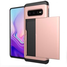 Dual Layer Armour Credit Card Case For Samsung Galaxy S10 Plus