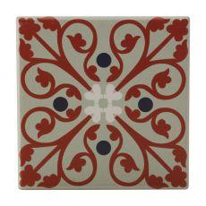 Medina Ceramic Tile Coaster