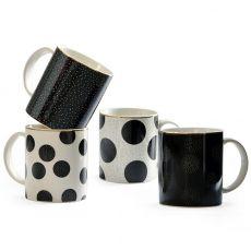 Barcelona Mugs, Set Of 4