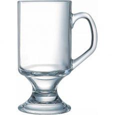 Footed Glass Mug