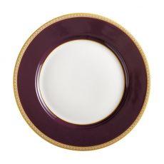 Teas & C's Classic Rim Serving Plate, 19.5cm