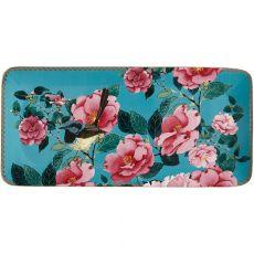 Teas & C's Silk Road Rectangular Platter, 33cm