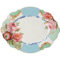 Italian Rose Large Oval Platter