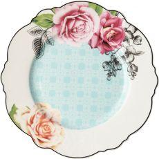 Wavy Rose Dinner Plate