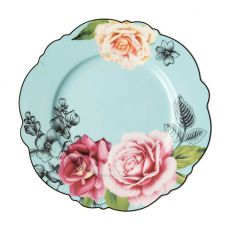 Wavy Rose Side Plate