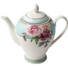 Wavy Rose Teapot