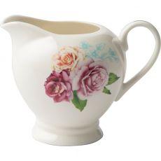 Wavy Rose Milk Jug
