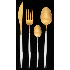 Satin Cutlery Set, 16pc