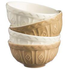 Cane Food Prep Bowls, Set Of 4
