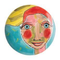 Side Plate, Artist Lady