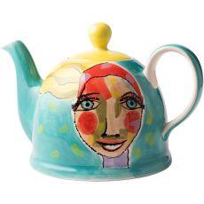 Teapot, Artist Lady, 1.7 Litre
