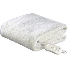 Fleecy Fitted Electric Blanket, Single