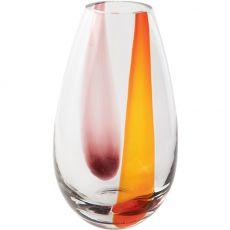 Sunset Glass Vase, 33cm