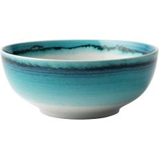 Blue Ring Cereal Bowl