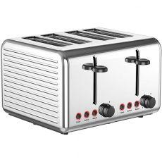 Ultimum 4 Slice Toaster, Silver