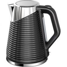 Black Stainless Steel Kettle, 1.5 Litre