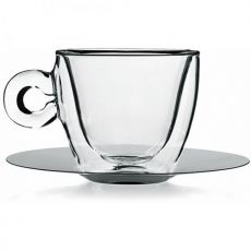 Thermic Cappuccino Cup & Saucer Set, Set of 2