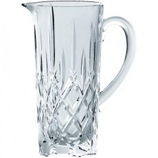 Noblesse Lead-Free Crystal Pitcher, 1.2 Litre