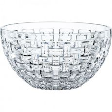 Bossa Nova Set Of 2 Lead-Free Crystal Bowls, 15cm