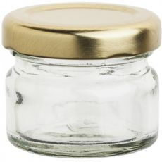 Mini Jar With Lid, 28ml