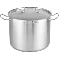 Professional Chef 13 Litre Stainless Steel Stock Pot, 28cm