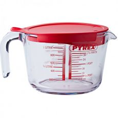 Classic Measuring Jug With Lid, 1 Litre