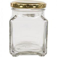 Square Storage Jar, 260ml