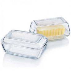 Butter Dish, Clear