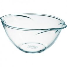 Classic Vintage Glass Mixing Bowl, 2.7 Litre