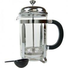Chrome & Pyrex Coffee Plunger
