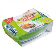 Essentials Rectangular Casserole Dish With Lid, 4.6 Litre