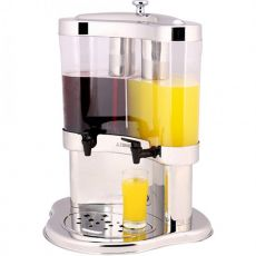 Twin Half Moon Beverage Dispenser, 2 x 5 Litre