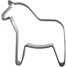 Stainless Steel Cookie Cutter, Horse, 4cm